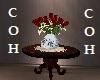 Foyer Table & Flowers
