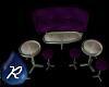 {R} Club Seating Purple