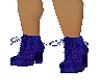 botines purpura
