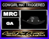 COWGIRL HAT TRIGGERED