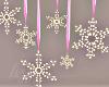 Pink Christmas Snow!L!