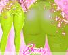 EML Latex Pants Lime