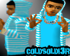 [LF] BB+W Stripy Hoodie