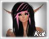 Kat   Loren black pink