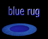 (DD) blue round rug