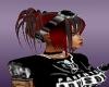 redblack rave  girl hair