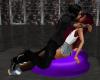 {CK} Purple Kiss Pillow