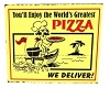 Pizza Delivery Sign