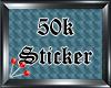 (S) 50k Sticker