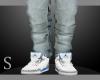 Retro Jordans v1 Blue