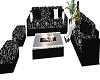 Black Bandana Sofa