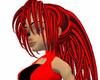 Red Black Tiger Hair