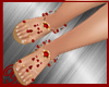 belly dance shoes red
