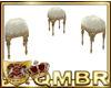 QMBR Baroque Stools