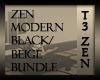 T3 Zen Mod Black-Beige