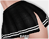 eBlack Uniform Skirt