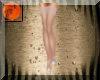 Teal & rose heels & nylo