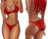 Red Bikini & Tattoo