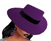 Purple and Black Gangsta