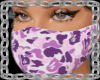 purple bape mask