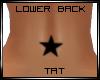 Star Lower Back Tat