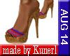 !K! HighHeel Slippers