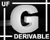 UF Derivable Letter G