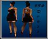 BBW Romantic Rose dress