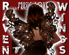 LACE MUSIC FAIRY WINGS!