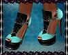 AnkiSin Heel-turquoise