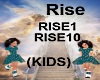 (KIDS) Rise song