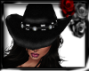 COWGIRL HAT BLACK BEAUTY