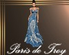 PdT Blue Fern Gown