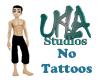 Ukla No Tattoos