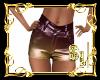 *Gold & Purple Short