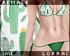 lmL Bikini - Cacti