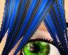 Black n Blue spike hair