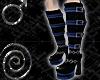 UGW Platform Boots Blue