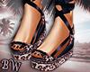 Leopard Sandals - V