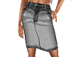 TF* Lt grey jean Skirt