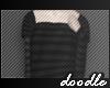 Cropped Blouse   Stripes