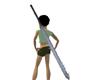 Steel Fish-hook Sword