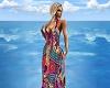 Carribean Summer Dress