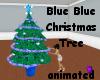Blue Blue Christmas Tree