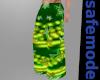 Green Rave Phat Pants