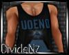 D: UOENO Blue/Blk Tank