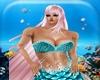 Dress Mermaid  blue\1