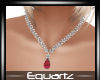 Red Diamond Necklace