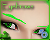 Sculpted Lime Eyebrows
