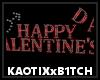 Happy V-Day Wall Art Der